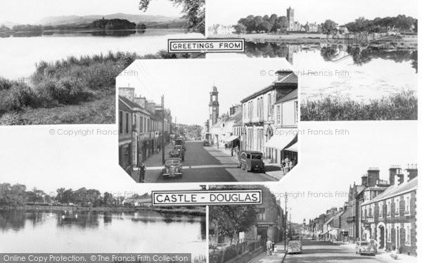 Photo of Castle Douglas, Composite c.1955