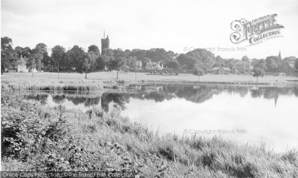 Photo of Castle Douglas, From The Loch c.1955
