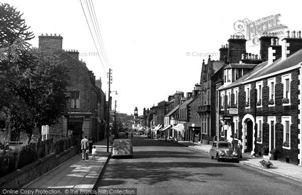 Castle Douglas, King Street c1955