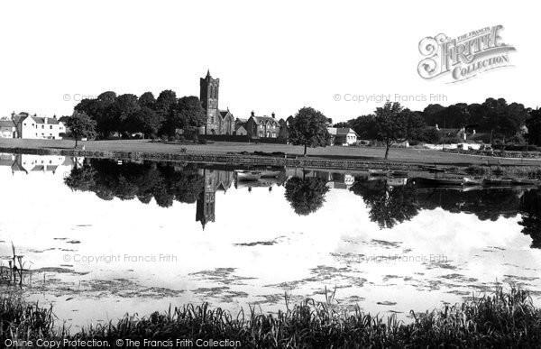 Photo of Castle Douglas, Lochside Park c.1955