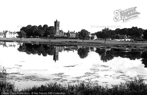 Castle Douglas, Lochside Park c1955