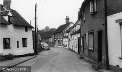 Castle Hedingham, Church Street c.1960