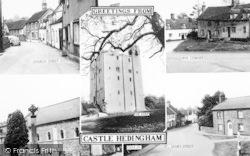 Castle Hedingham, Composite c.1960
