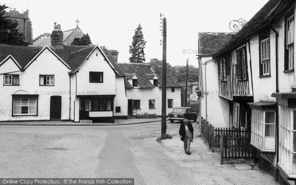 Falcon Square, Castle Hedingham, c.1965, Essex.  (Neg. C238014)  © Copyright The Francis Frith Collection 2005. http://www.francisfrith.com