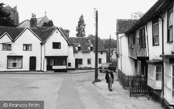 Castle Hedingham, Falcon Square c.1960