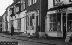 Castle Hedingham, Post Office And Shops c.1965