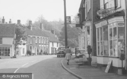Castle Hedingham, St James Street Businesses c.1965
