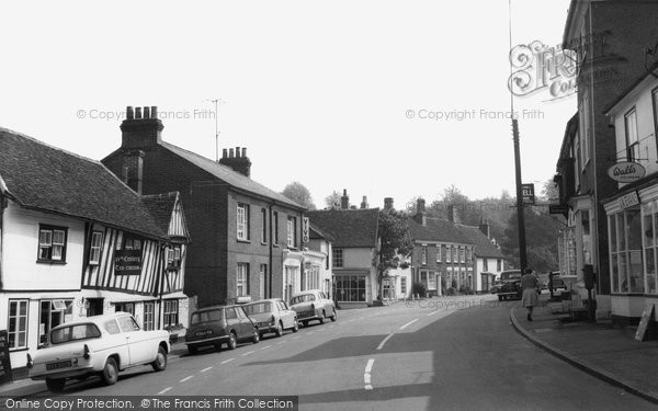 St James Street, Castle Hedingham, c.1965, Essex.  (Neg. C238019)  © Copyright The Francis Frith Collection 2005. http://www.francisfrith.com