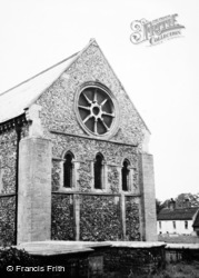 Castle Hedingham, St Nicholas Church 1950