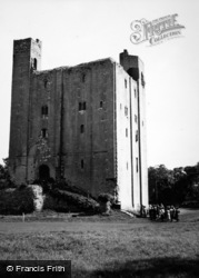 Castle Hedingham, The Castle Keep c.1950