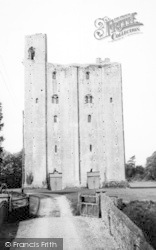 Castle Hedingham, The Castle Keep c.1955