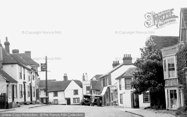 Castle Hedingham, c.1955, Essex.  (Neg. C238001)  © Copyright The Francis Frith Collection 2005. http://www.francisfrith.com