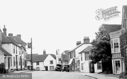 Castle Hedingham, The Village c.1955