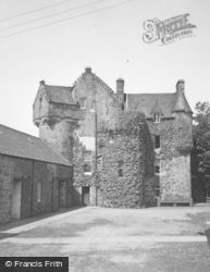 Castle Of Fiddes, 1954