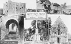 Composite c.1910, Castle Rising