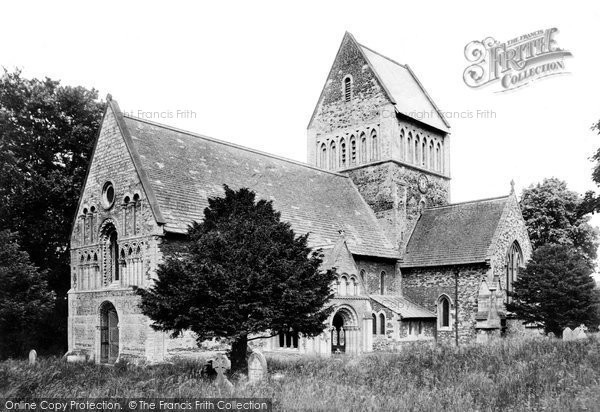 Photo of Castle Rising, St Lawrence's Church 1908