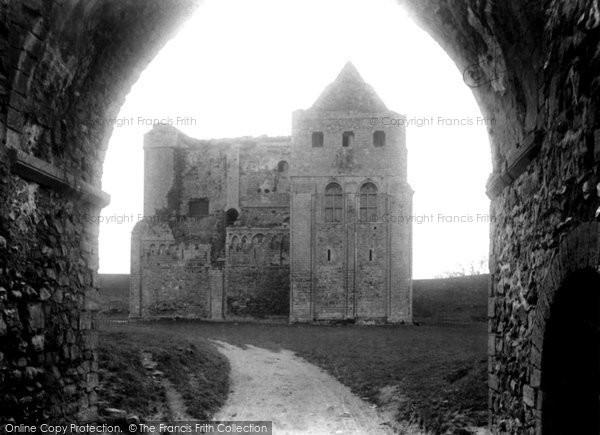Photo of Castle Rising, The Castle 1898