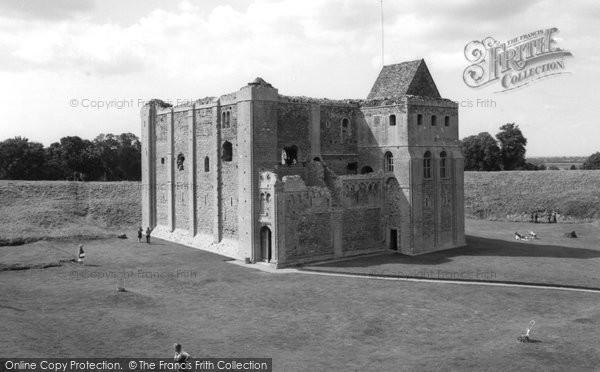 Photo of Castle Rising, The Castle c.1965