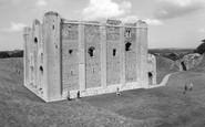 Castle Rising, the Castle c1965