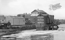 Allinsons Flour Mill c.1955, Castleford
