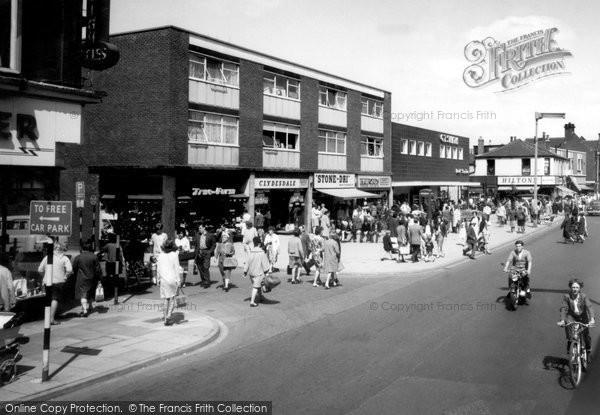 Castleford, Carlton Street c1965