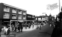 Castleford, Carlton Street c.1965