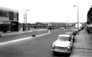 Castleford, the Bus Station c1965