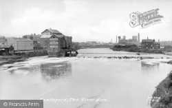 Castleford, The River Aire c.1955