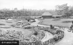 Castleford, Valley Gardens c.1950