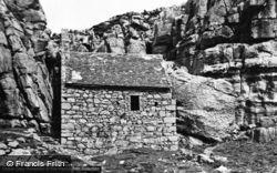 St Govan's Chapel c.1955, Castlemartin