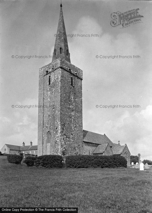 Photo of Castlemartin, St Mary's Church, Warren c.1955