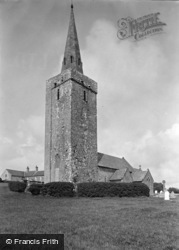 Castlemartin, St Mary's Church, Warren c.1955