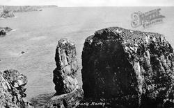 Stack Rock c.1960, Castlemartin
