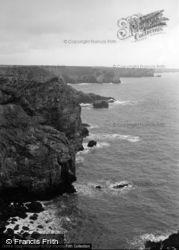 Stack Rocks 1963, Castlemartin