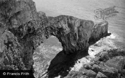 Castlemartin, Stack Rocks 1963