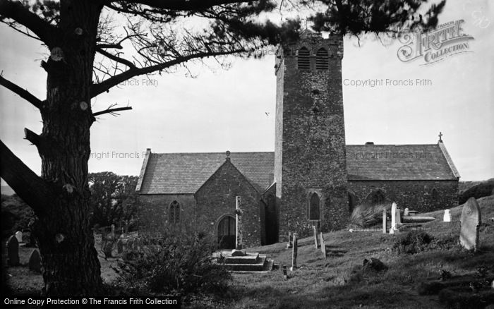 Photo of Castlemartin, The Church c.1955