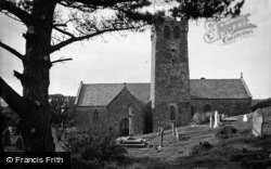 Castlemartin, The Church c.1955