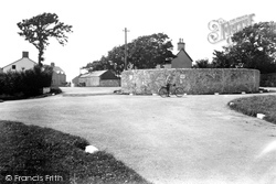 Castlemartin, The Roundabout c.1955