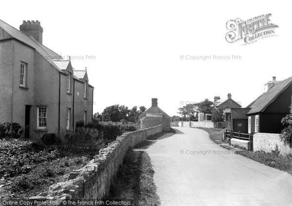 Photo of Castlemartin, The Village c.1955