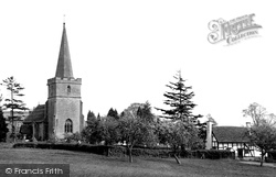 Castlemorton, St Gregory's Church c.1960