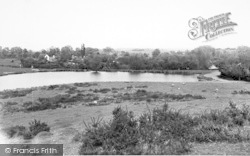 Castlemorton, The Mill Pond c.1960