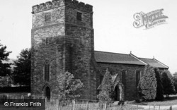 Church Of St Michael And St George c.1955, Castleton