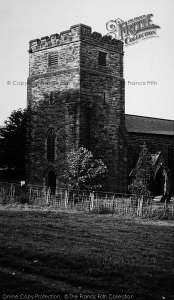 Photo of Castleton,  Church Of St Michael And St George c.1955