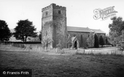 Castleton, Church Of St Michael And St George c.1955