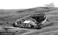 Entrance To Blue John Caverns c.1955, Castleton