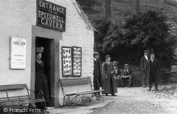 Entrance To Speedwell Cavern 1909, Castleton