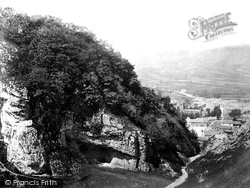 From Cave Dale c.1864, Castleton