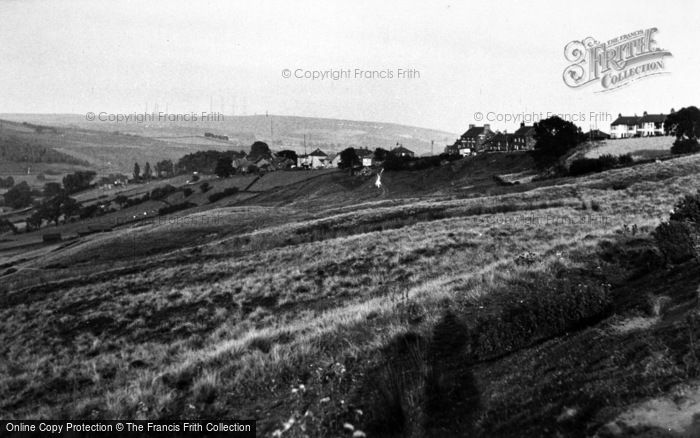 Photo of Castleton, From Westerdale Road c.1955