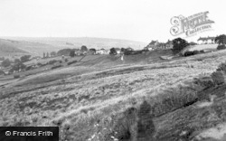 Castleton, From Westerdale Road c.1955