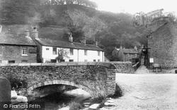 Goosehill Bridge 1909, Castleton